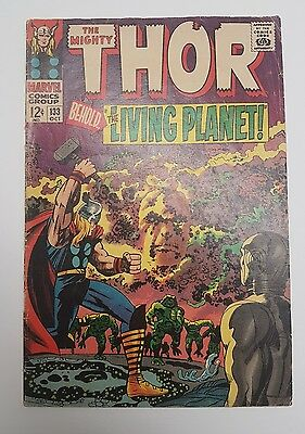 Thor #133 (Oct 1966, Marvel) 12 Cents *NERDARY*