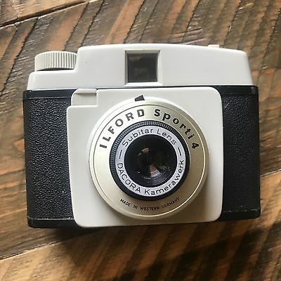 ilford sporti 4 camera vintage made in Germany