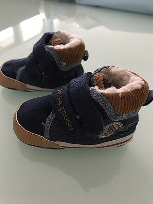 Baby Boy Pre Walker Winter Boots Shoes Size 0-3months