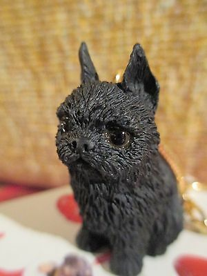 Brussels Griffon   Black   ~  Key Chain ~ Great Gift Item