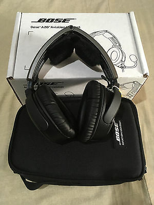 Bose A20 Headset WITHOUT Cable Assembly PN.324843-0010