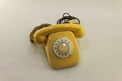 1980's Telecom Rotary Telephone 802 S1/231 Dial Up, Old 'Phone Vintage Retro