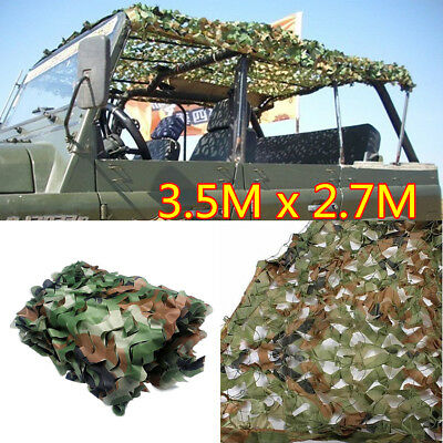 3.5m X 2.7m Shooting Camouflage Woodlands Netting Hunting Hide Army Camping Net