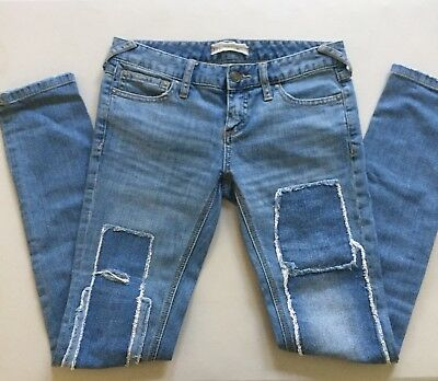 Women's Free People Patched Skinny Jeans Size 25