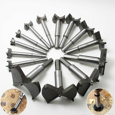 New 16-65mm HSS Forstner Woodworking Boring Wood Cutter Hole Saw Drill Bit Tool
