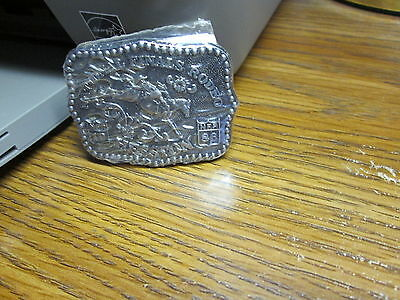 1986 Hesston National Finals Rodeo Belt Buckle