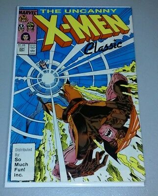 UNCANNY X-MEN #221 1st MISTER SINISTER So Much Fun Variant RARE FN