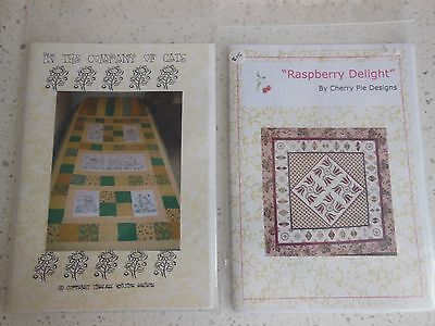 2 x Quilt patterns New and uncut