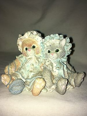 Calico Kittens You're Always There When I Need You Figurine #627992 1992