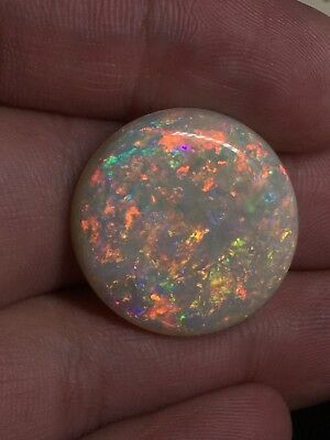 21.17ct Natural Australian Opal Solid Stone Cut Polished