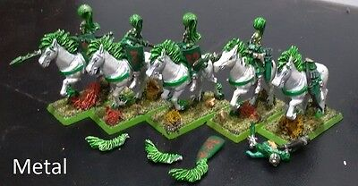 Lot 5: 5 painted Wood elf glade riders