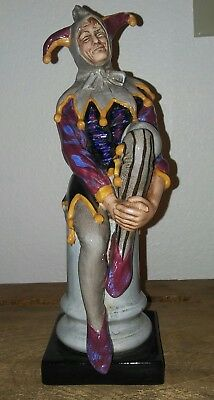 "Vintage Royal Doulton The Jester HN 2016 Figurine 9.5"" Made in England"