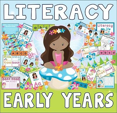 Cd Early Years Literacy Pack Teaching Resources English Alphabet Phonics Fairies