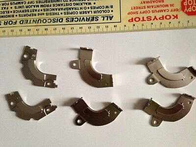 Lot of 10 Neodymium Magnets from Hard Drives (HDD) on Brackets