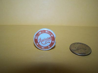 RAINIER BEER PRE-PROHIBITION BOTTLE STOPPER SEATTLE BREWING AND MALTING c.1900