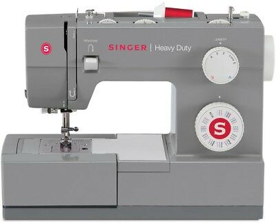 Singer Sewing Machine 32 Stitch Portable Electric 3 Needle Position Heavy Duty