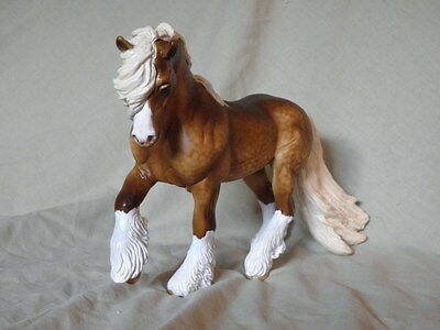 Breyer Horse Statue OOAK CM/Custom Fell Pony Dappled Chocolate Palomino