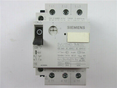 1pcs New Siemens  Circuit Breaker 3VU1340-1MK00 4-6A