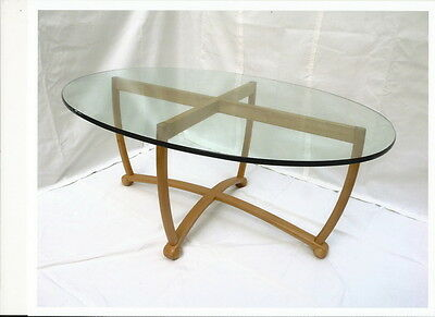 2 x Freedom Glass Oval Tops for Coffee Table