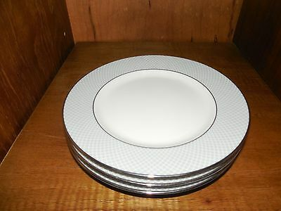 Block Spal ~ Grey Dawn ~ Bread & Butter Plates ~ 1980 ~ set of 3
