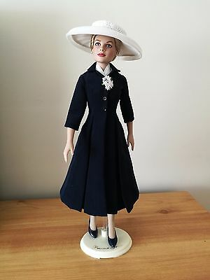 Franklin Mint - Princess Grace (Arrival In Monaco) - Doll + Wardrobe