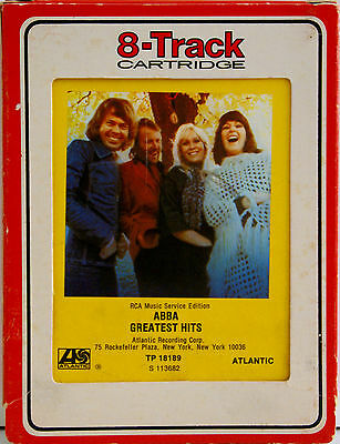 ABBA Greatest Hits   8 TRACK TAPE  CARTRIDGE