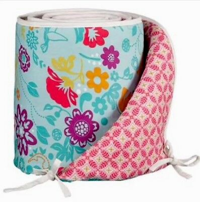 Lollie Living Cot Bumper In Poppyseed. Brand New.