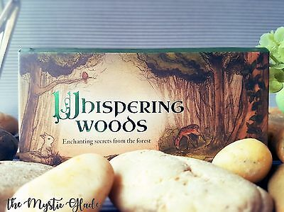 Whispering Woods Affirmation Deck Woodland Cute Squirrel Mini Tarot Oracle Deck