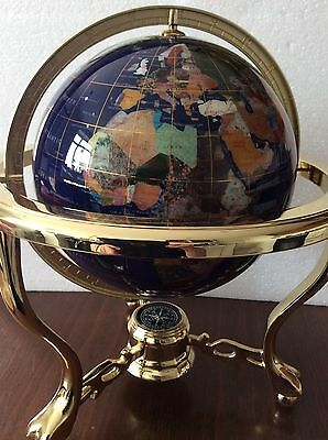 Gemstone Globe by Lapis Lazuli Insurance Valuation £940!!!