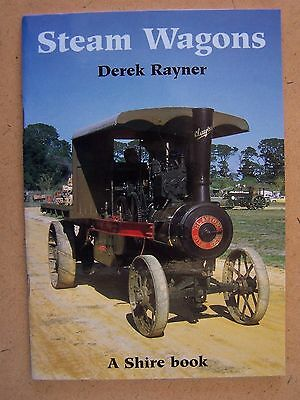 """""""steam Wagons."""" A Shire Publications Book."""""""