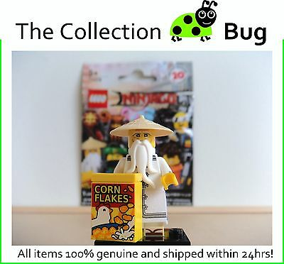 Lego Minifigures 71019 : The Ninjago Movie : Master Wu : Free Post!