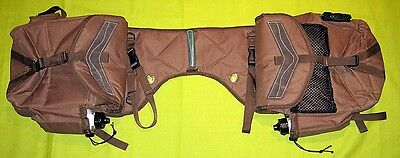 Horse Saddle Bags for Western Stock Halfbreed Saddles Brown in Colour