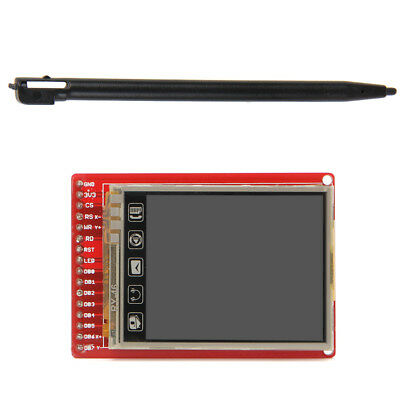 "2.0"" 3.3V TFT LCD Touch Screen Breakout Board With Touch Pen For Arduino"