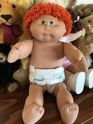Cabbage Patch Jesmar Boy Vhtf Red Hair