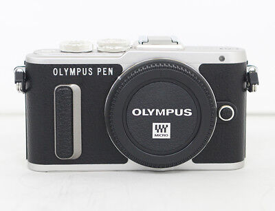 Olympus PEN E-PL8 Mirrorless Micro Four Thirds Digital Camera Only Body (Black)