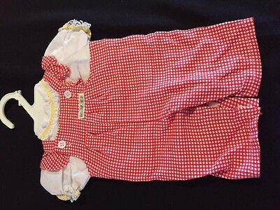 cabbage patch doll check overalls on original hangar outfit ex condition