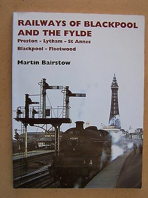 """""""railways Of Blackpool And The Fylde.""""british Trains Book."""