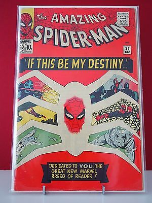 The Amazing Spider-Man - Vol. 1 #31 - Grade VG+ (4.5) - Pence Copy KEY ISSUE
