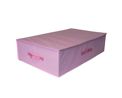 Pink Breathable Travel Storage Under Bed Boxes Wedding Bridal Prom Gown Dress