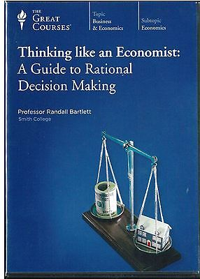 The Great Courses - Thinking like an Economist: A Guide to Ratio / 2 DVD no book