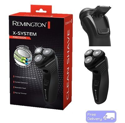 Remington Precision Shaver Electric Mens Face Beard Trimmer Sideburn Washable