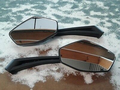 Atv Mirror Set (1 Right And 1 Left) And Mounting Kit Atv-22800-30-00 New
