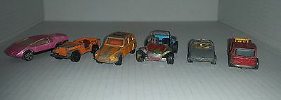 CORGI Juniors & Toys 6 die-cast toys cars and trucks all Made in Gt Britain