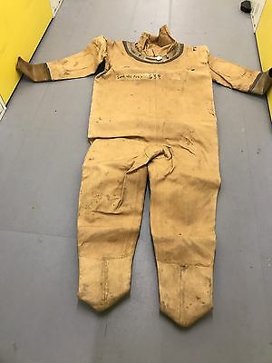 A Siebe Gorman 6 Bolt Diving Suit