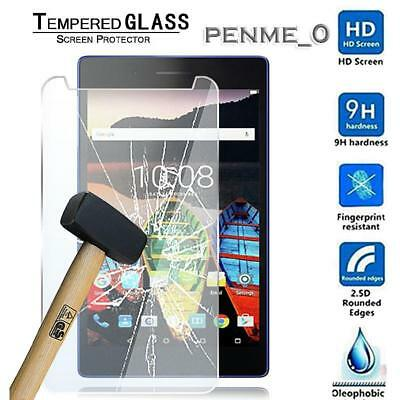 Genuine Tempered Glass Screen Protector For Lenovo Tab3 Essential 7