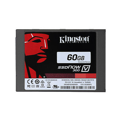 For Kingston V300 60GB SSD SATA III Internal Solid State Drive 6Gb/s SV300S37A