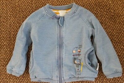 Baby Boy Mamas and Papas Denim Jacket 9-12 months