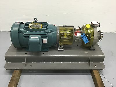"Durco Flowserve 1"" X 1.5"" X 1LF 316 Stainless Centrifugal Pump NEW"