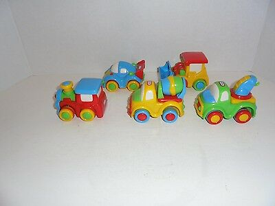 Lot of 5 Little Tikes Toddler Toy trucks