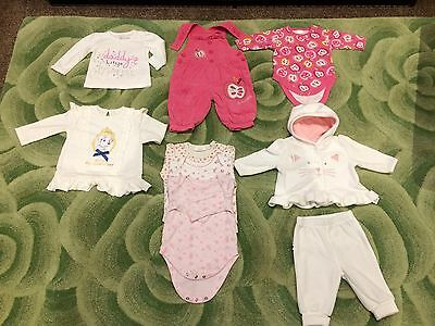 Baby Girls Clothing Bundle Age 0-3 Months